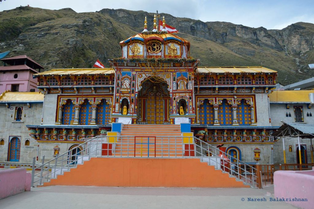 Entrance To The Badrinath Temple