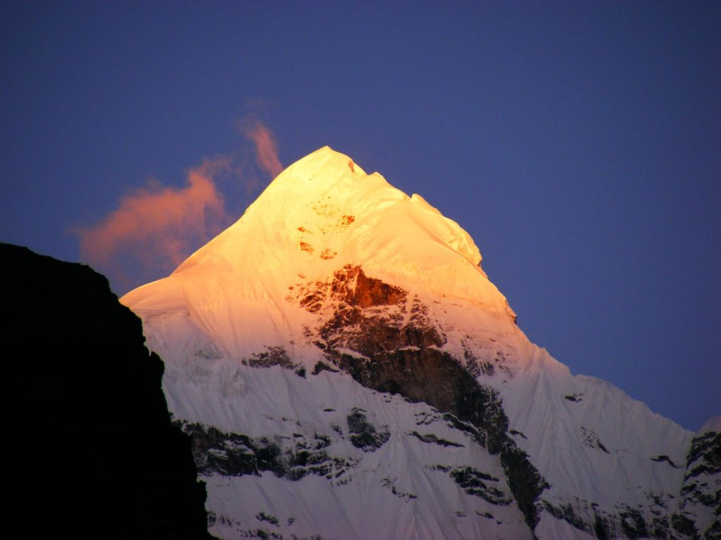 The Neelkanth Peak At Badrinath