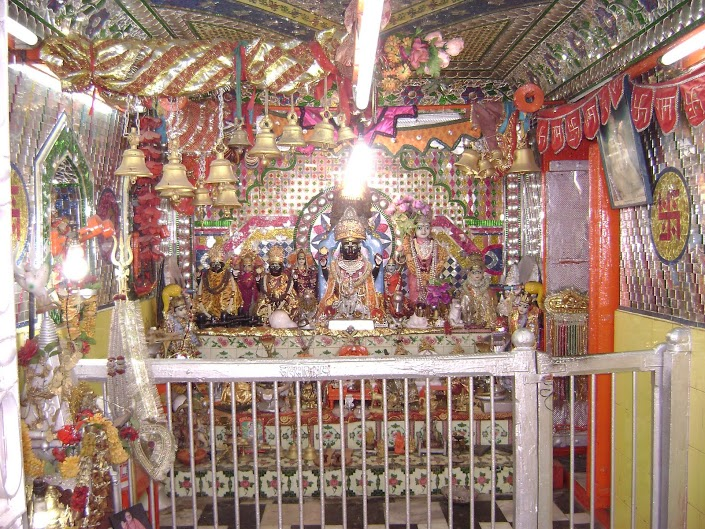 The Badrinath Temple Idol