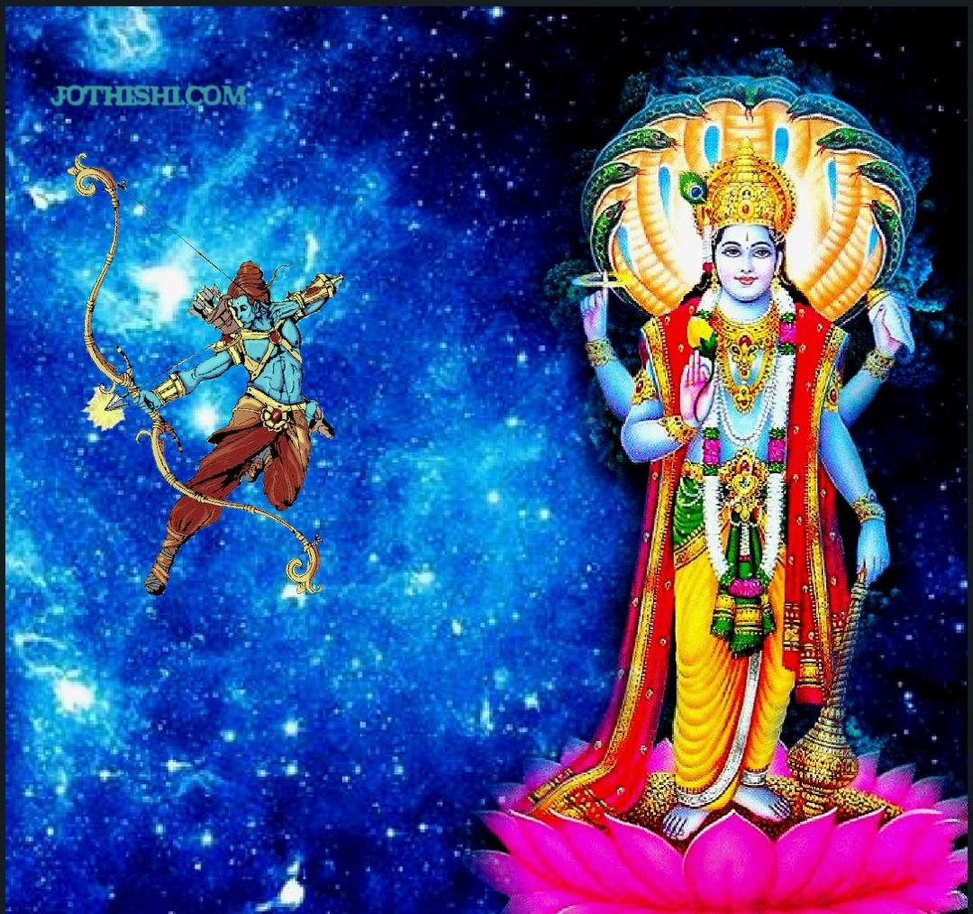 Ardra Nakshatra and Vishnu Image