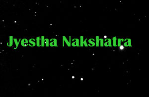Jyestha Nakshatra