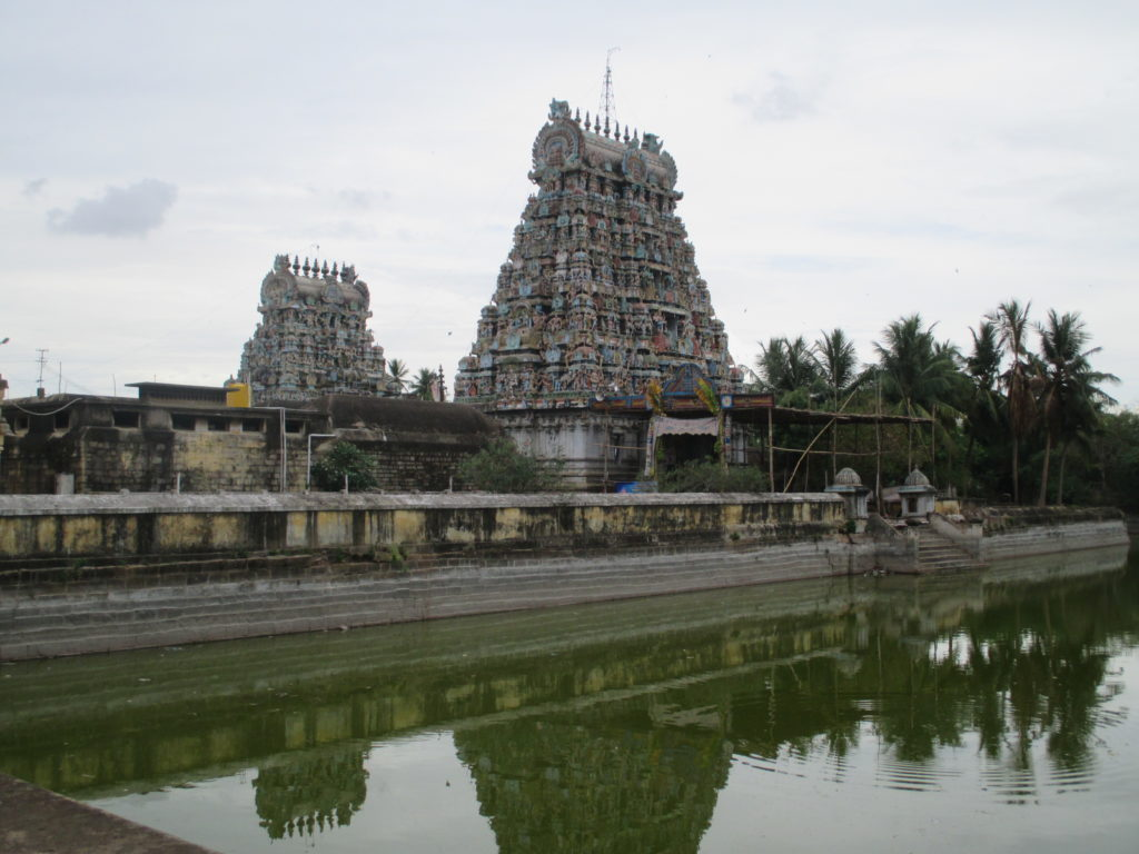 Agni Theertham at Agnipureeswarar in Nagapattinam District