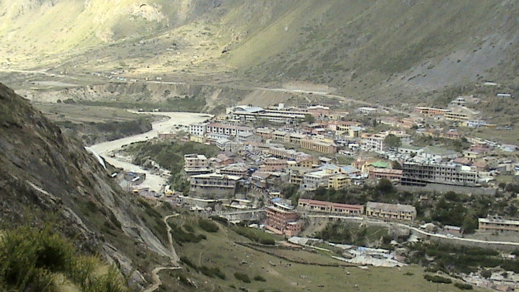 View Of The Badrinath Valley