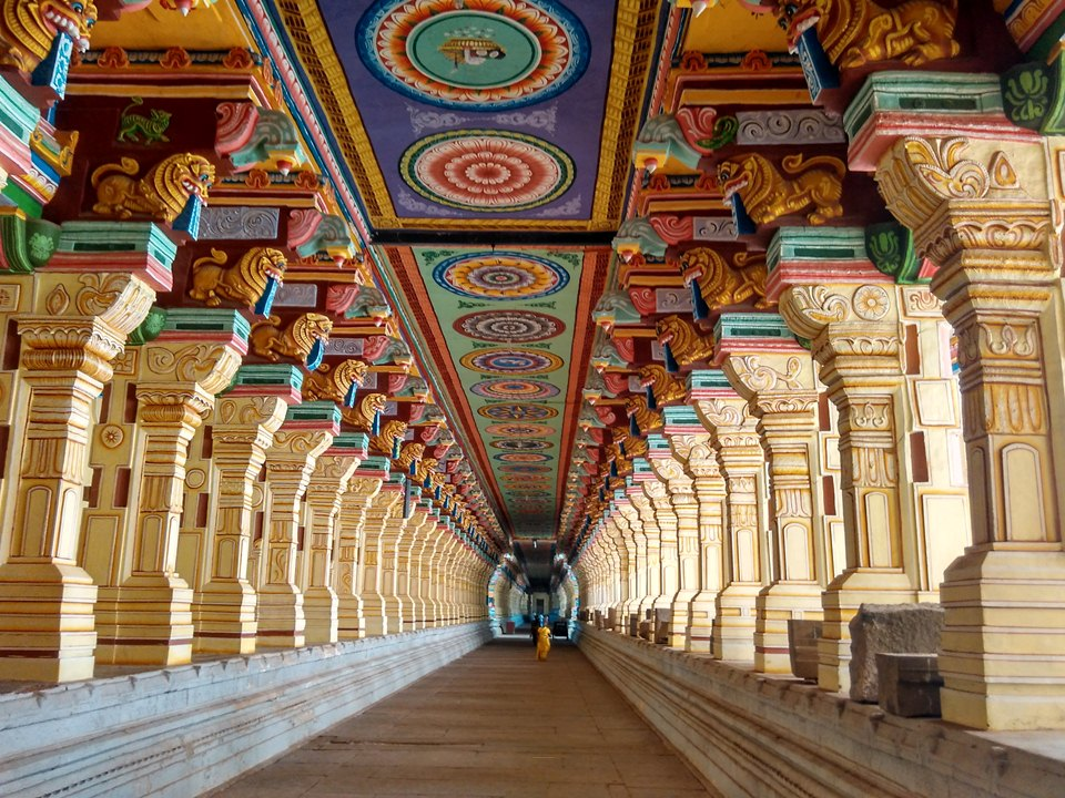 Ramnath Swamy Temple's corridor