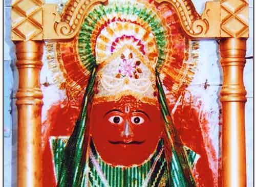 Visa Hanuman idol