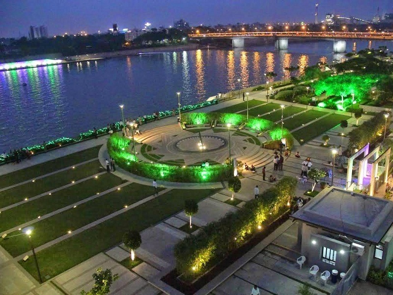 Sabarmati Riverfront in Gujarat
