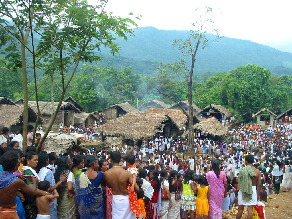 Kottiyoor Temple During A Festival