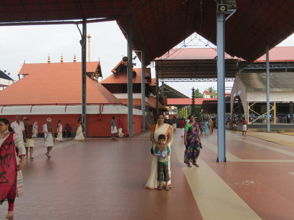 Guruvayur temple surroundings
