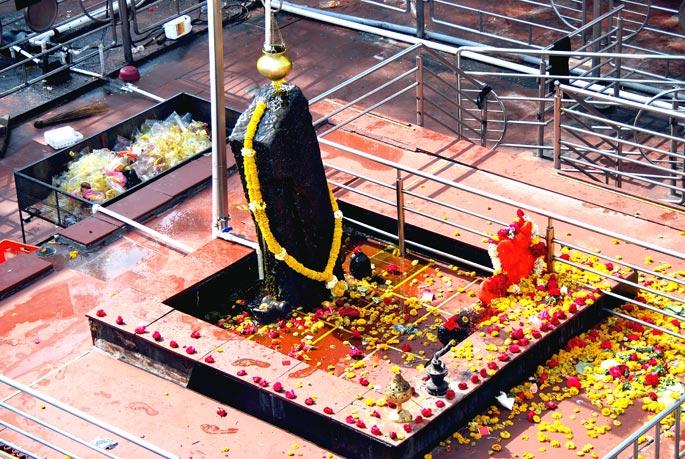 Lord Shani temple in Maharashtra