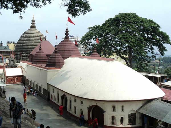 Kamakhya temple in Assam
