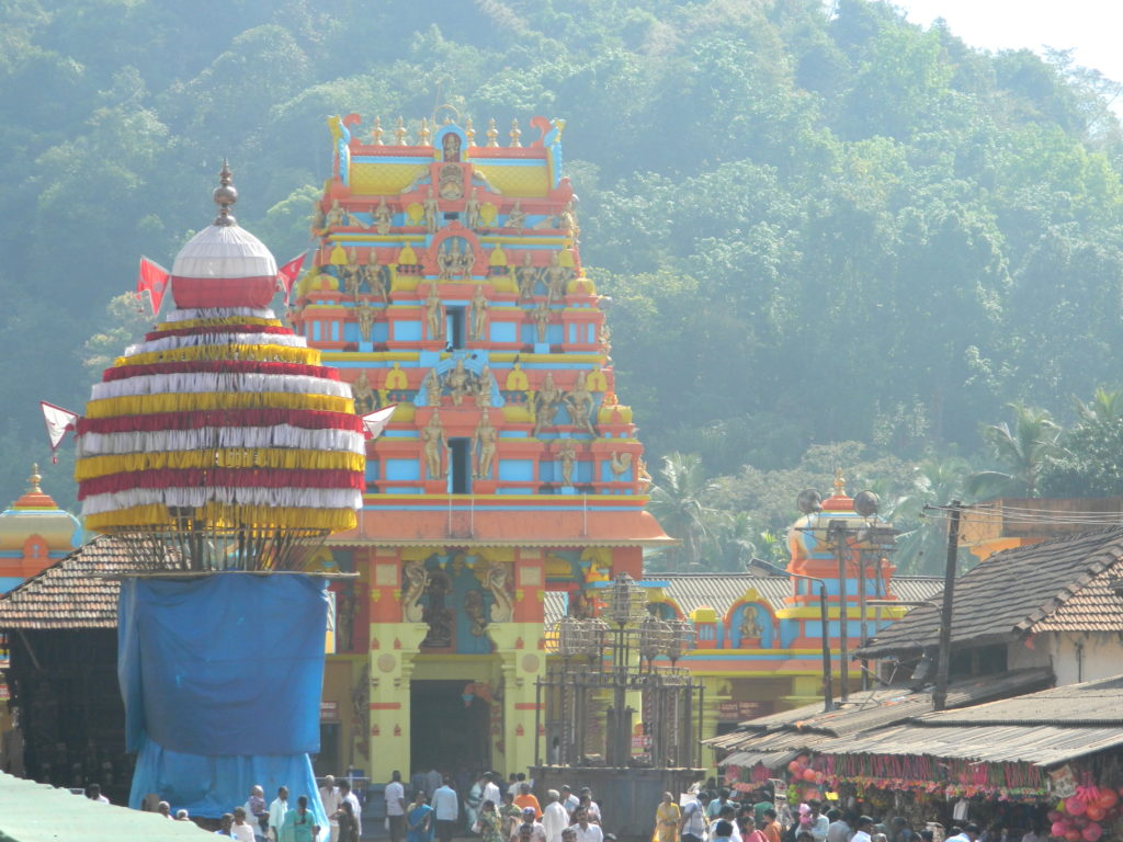 The stunning view of Kukke Subramanya Temple