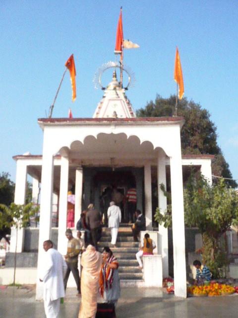 Mangalnath temple entrance