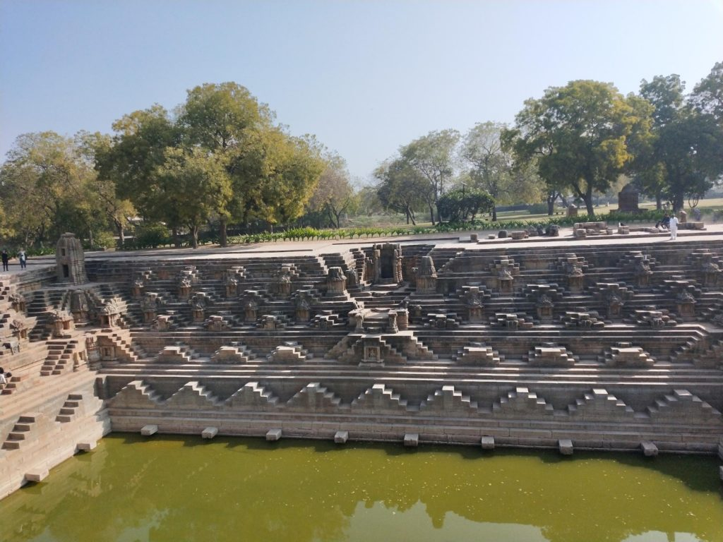 Modhera Temple Pond