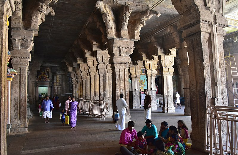 Famed halls are the Ranganathaswamy temple's highlights