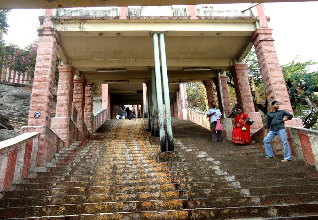 Palani Murugan Temple Steps
