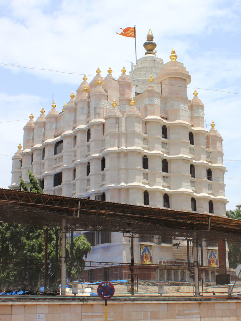 The famous Siddhivinayak Temple