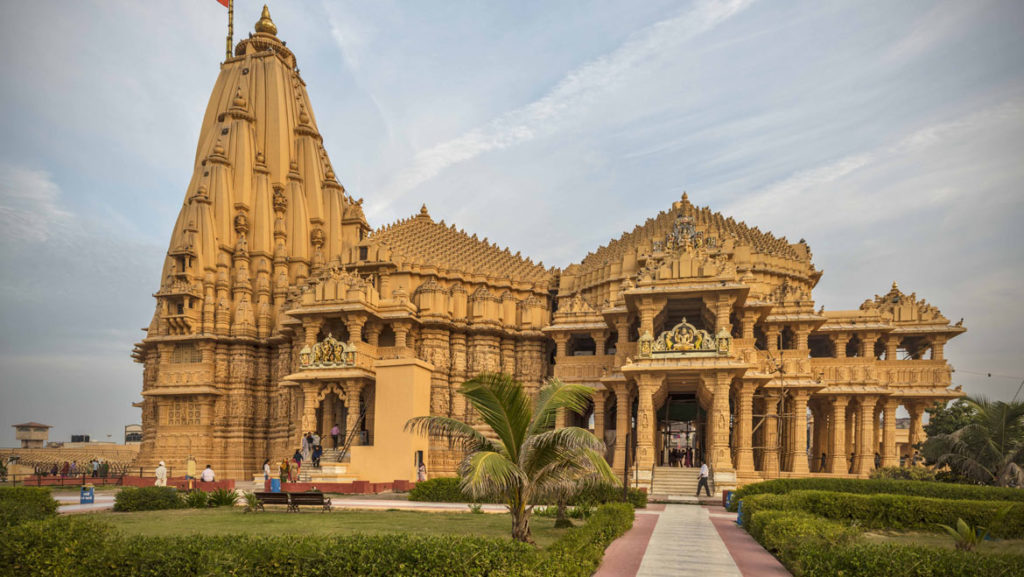 Overall view of Somnath Temple