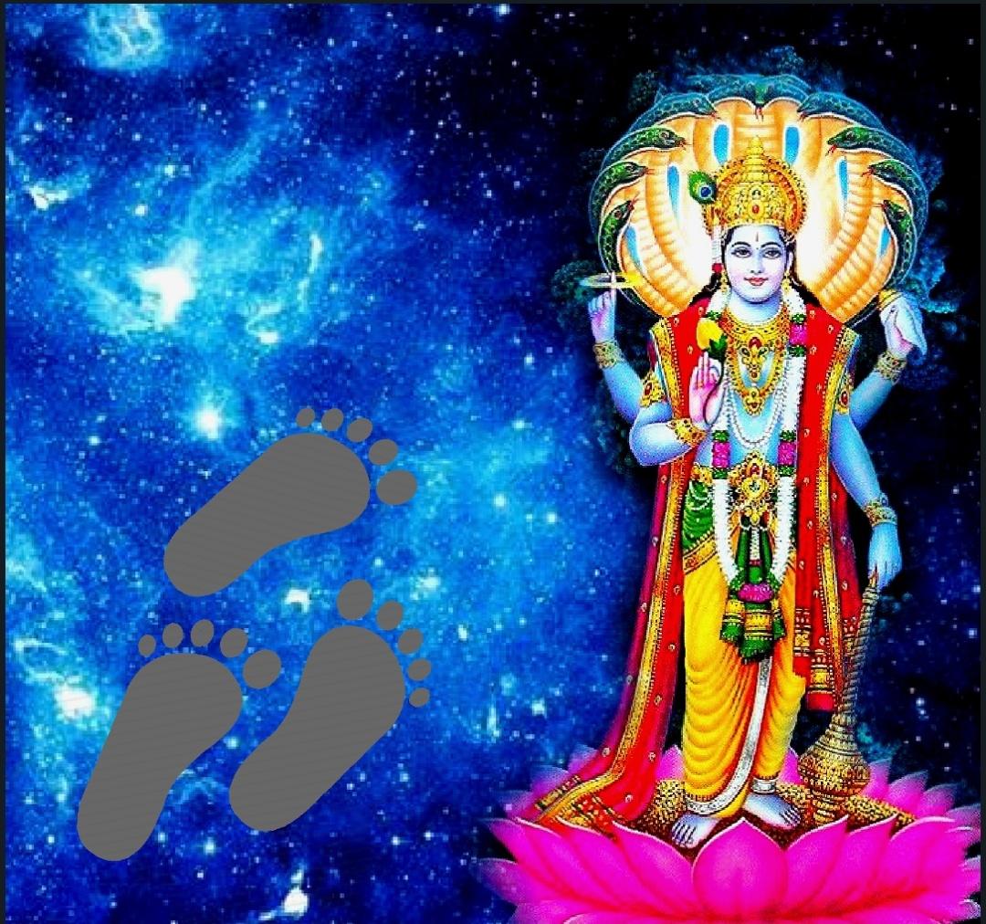 Vishnu Sahasranamam Shravana Image