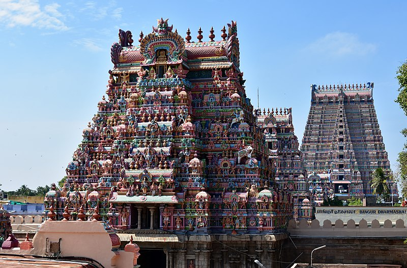 Ranganathaswamy Temple's magnificent gopuram