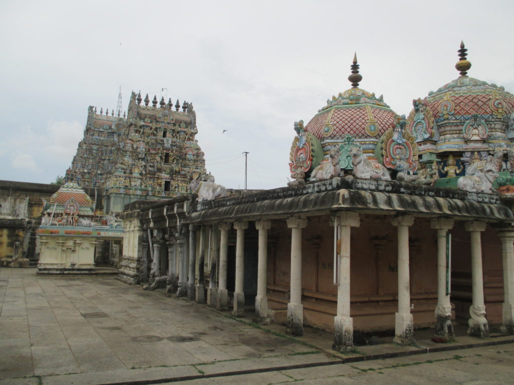 The Agnipureeswarar Temple  gopuras