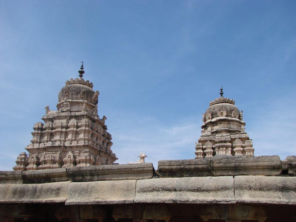Veerabhadra Temple's main Gopuram