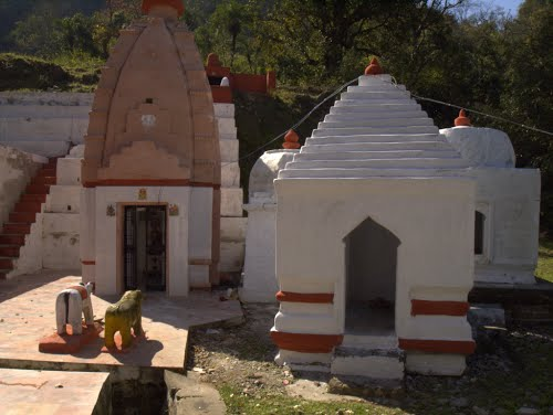 Another view of the Shiva temple