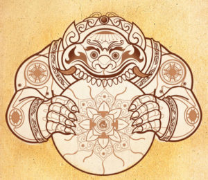 Rahu is a fictitious graha and is the North Node of the