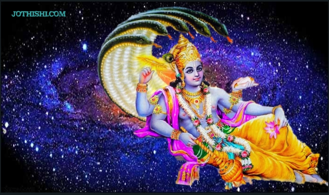 Vishnu Sahasranamam - 1000 names of Lord Vishnu in 108 shlokhas
