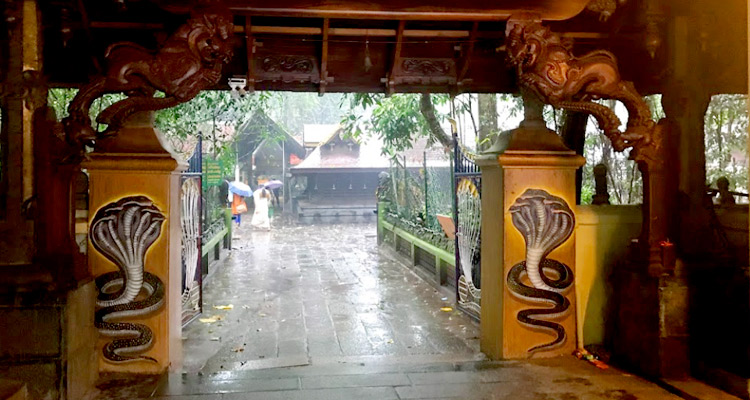 Mannarasala Temple in Kerala