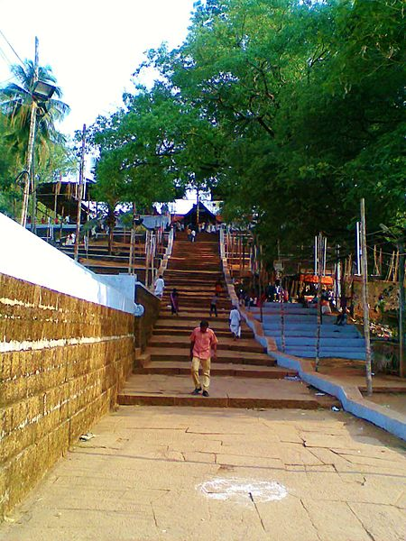 Thirumandhamkunnu Temple entrance