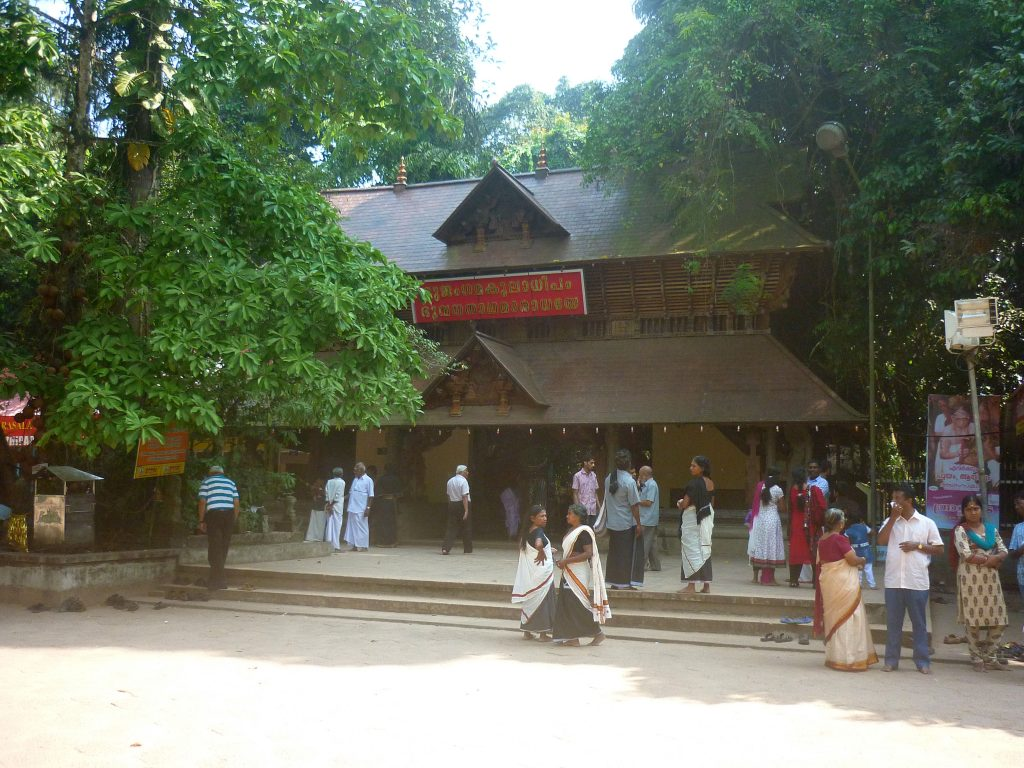 Devotees at Mannarasala Temple