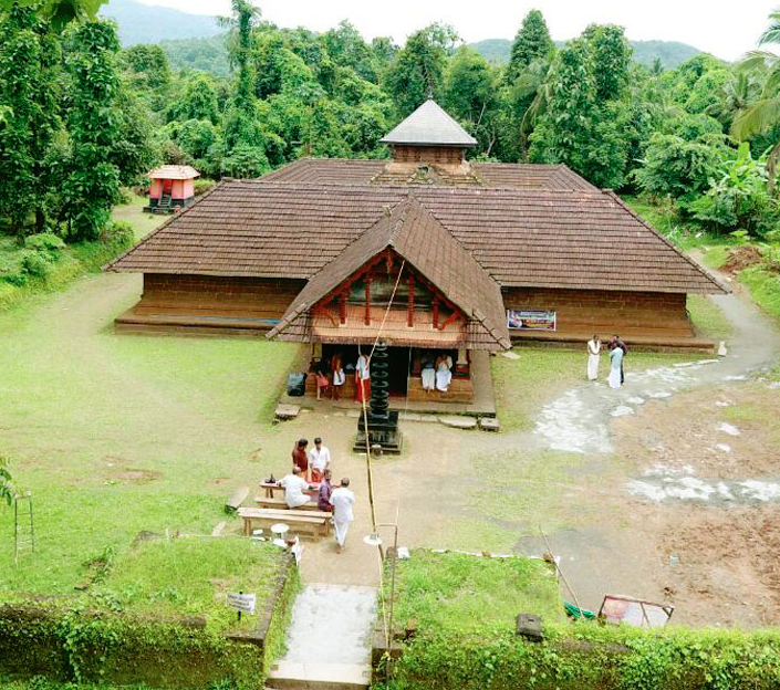 Mridanga Saileswari Temple in Kerala