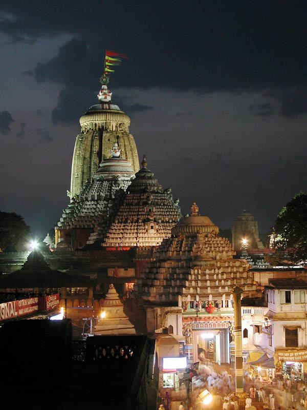 Puri Jagannath Temple in Odisha