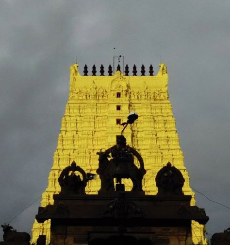 Ramanathaswamy Temple in Rameshwaram