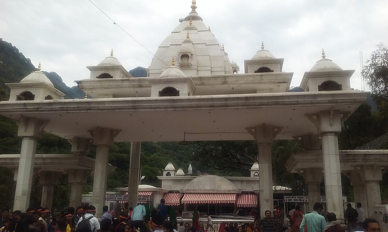 Vaishno Devi Temple entrance