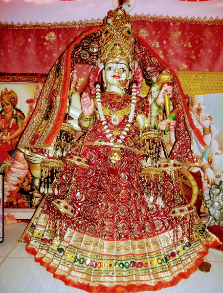 Goddess Vaishno's idol