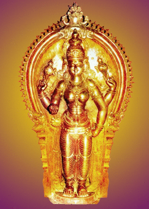 Mridanga Saileswari temple's deity