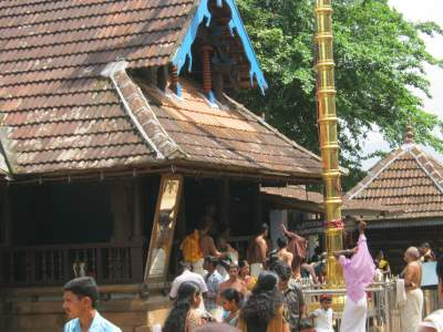 Tthirumandhamkunnu Temple in Kerala