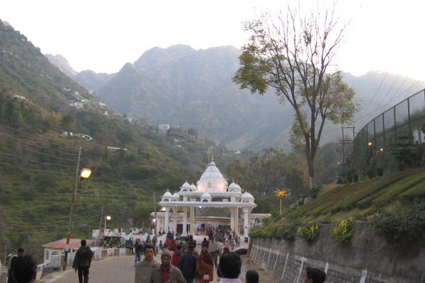 Vaishno Devi Temple in Jammu and Kashmir