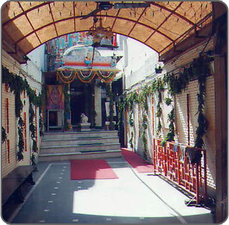 Visa Hanuman Temple entrance