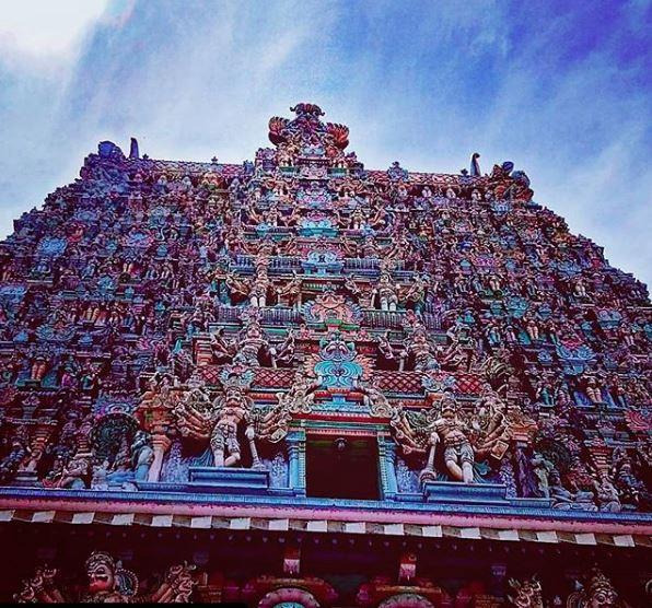 Meenakshi temple in Madhurai