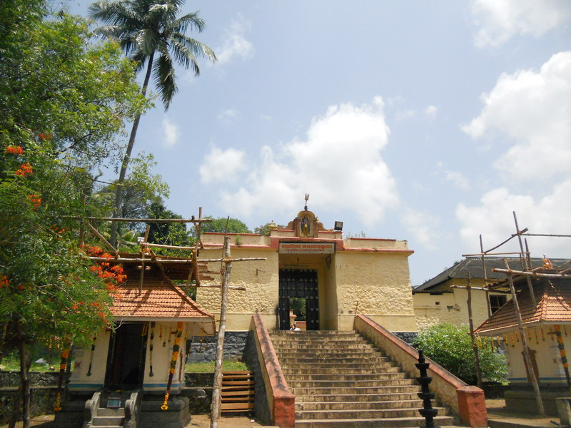 Achankovil Sree Dharmasastha temple entrance