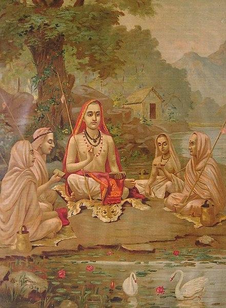 Adi Guru Shankaracharya-builder of Kamleshwar Mahadev mandir