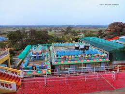 Bird's Eye View of the Wargal Saraswati Temple