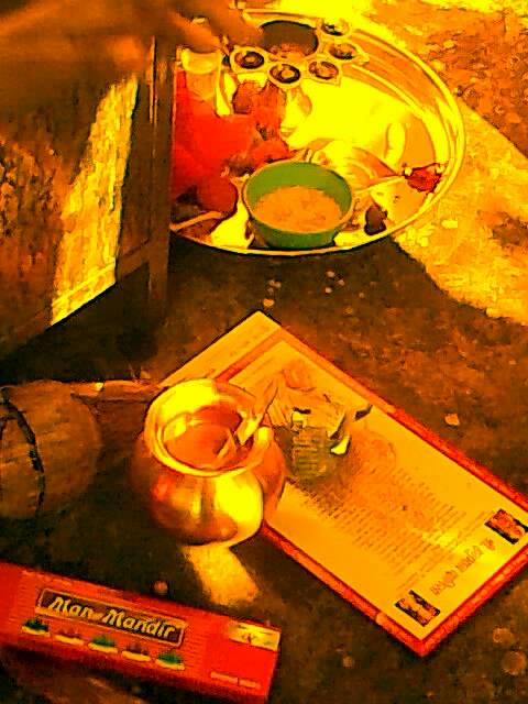 Hanuman Jayanti offerings