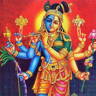 Lalita and Krishna