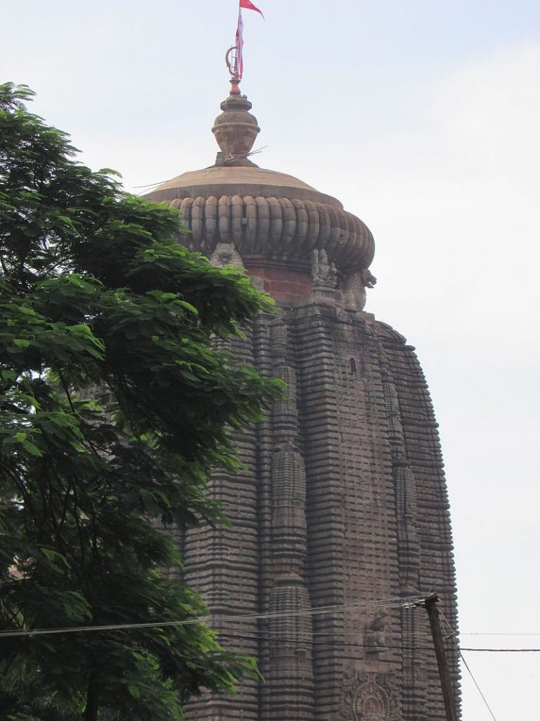 Lingaraj temple tower