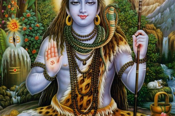 Lord Shiva chanted the nama traya astra mantra
