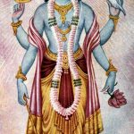An image of Lord Narayana