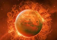 Mars, the cause of Manglik Dosha